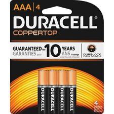 Duracell Coppertop Alkaline Batteries, AAA, 4/Pack, PK - DURMN2400B4Z