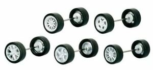HO 1:87 Herpa # 53372 Wheel Sets Porsche Autos - 5 styles w/4 pcs. /style