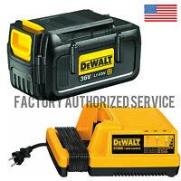 DEWALT DCB361 36v Lithium Ion Battery with DC9000 36v Battery Charger NEW!!!