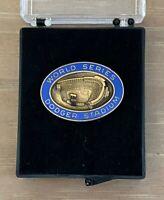 VINTAGE 1974 MLB LOS ANGELES DODGERS WORLD SERIES BASEBALL PRESS PIN by BALFOUR