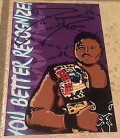 "D-Lo Brown 4"" X 6"" Autographed Graphic Photograph Attitude Era, AJPW, TNA Impact"