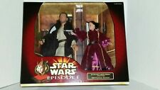 "Star Wars Queen Amidala & Qui-Gon Jinn Portrait Edition 12"" Large Action figures"