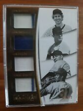 2015 Panini Immaculate Quad Jersey Relic Sutton,Drysdale,Feller,Jenkins #28/99