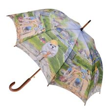 CLIFTON Umbrella - Dog House - Henry Katz Collection - Full Size - BNWT