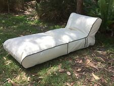 New Indoor Outdoor Bean Bag  Relaxious Day Bed 2 in 1 . Use as chair or lounger