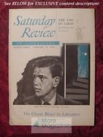 Saturday Review January 14 1950 ANTONIO IGLESIAS ANTHONY WEST CARLOS P. ROMULO