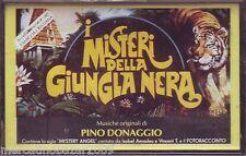 PINO DONAGGIO I Misteri Della Giungla Nera (1991) MC  O.S.T. ORIGINALE NUOVA