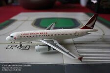 JC Wing Cathay Dragon Airbus A320 in New Color Diecast Model 1:200