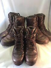 HAIX Combat High Liability Grade 1 British Army Boots Brown Male Female Cadet