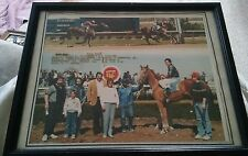 000 Vintage Horse Racing Winners Circle Photo Biff Bob Ladbroke DRC 1986