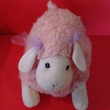 Plump Plush Pink Sheep or Lamb for Baby Girl's Room