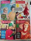 4 alte Praline Zeitschriften 1962