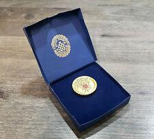 Medalja Hrvatski Domoljub HOS Plakete Hrvatska Kroatien Croatia Ustasa Pavelic