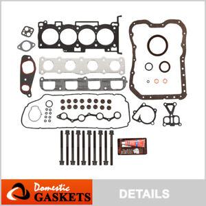 Fits 06-09 Hyundai Sonata Kia Optima Rondo 2.4L DOHC Full Gasket Set Bolts G4KC