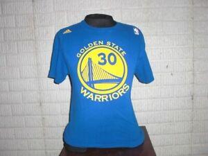 Golden State Warriors STEPHEN CURRY Basketball Jersey style shirt Medium Adidas