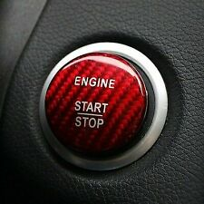Red Carbon Fibre Mercedes Benz Keyless Go Button | C A E Class | E63 AMG A45 C63