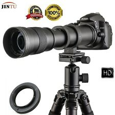 JINTU 420-800mm f8.3-16 Telephoto Prime Lens for Micro Four Thirds Camera M4/3