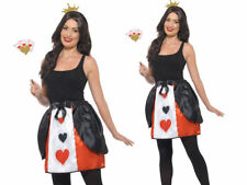 Adult Wonderland Queen Kit Alice Book Week Day Fancy Dress Outfit Accessory