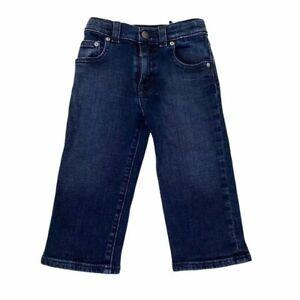 Quiksilver Boys Toddler Baby 18m Dark Denim Jeans Long Pants Adjustable Waist