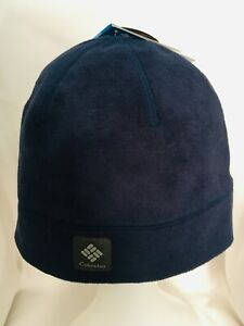 NEW Columbia Agent Heat Beanie Hat NAVY