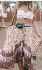 Spell And The Gypsy Collective Design Gypsy Love Castaway Skirt Orange NWT SZ-XL