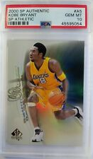 2001 01 SP Authentic Athletic Kobe Bryant #A5, Lakers Insert, PSA 10, Pop 12
