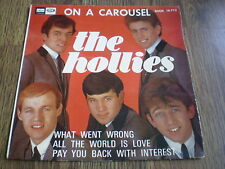 """THE HOLLIES - ON A CAROUSEL 7"""" SPANISH EP 1967 ODEON"""