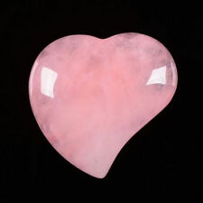 """Candle, Hearts 1)Rose Quartz 1) Red Agate inside Rainbow 6 """" high x 5.5"""" x 5.5"""""""