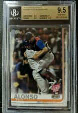 Pete Alonso 2019 Topps Update #US262 BGS 9.5 Home Run Derby Rookie Card RC POP 7