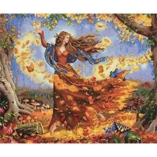 Dimensions Counted X Stitch -gold, Fall Fairy - Cross Gold Kit D7035262