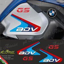 Set 4 Adesivi Fianco Serbatoio Moto BMW R 1200 gs adventure LC GS & ADV color