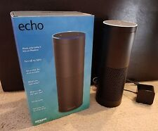 Amazon Echo w/ Alexa Voice Control Personal Assistant & Bluetooth Speaker, Black