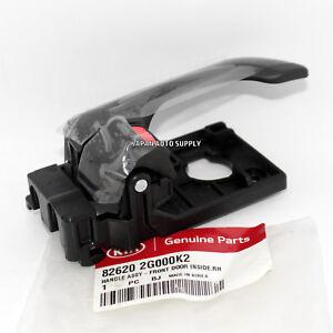GENUINE KIA 06-10 Optima FRONT INTERIOR RH PASSENGER DOOR HANDLE 82620-2G000-K2
