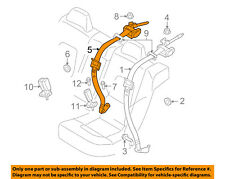 VOLVO OEM 12-16 S80 Rear Seat Belt-Center Middle Assy 39818824