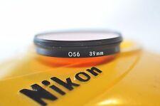 Nikon 39mm O56 filter for Nikkor 300mm 2.8 ED Drop-in 500mm Reflex 400mm lens