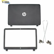 LCD back cover +Front Bezel +hinges Set for HP15-R263DX 15-R018DX 15-R011DX New