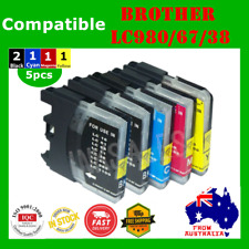 5x Ink Cartridge LC980 LC67 LC38 For Brother DCP-385C DCP-585CW MFC-790CW J615W