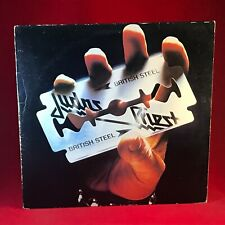 JUDAS PRIEST British Steel 1980 UK Vinyl LP EXCELLENT CONDITION original