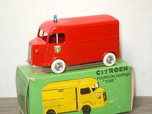 Citroen Fourgon 1200KGS Pompiers - JRD J.R.D France in Box *28906