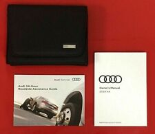2018 Audi A4 Owners Manual w/Navigation 2018 Audi A4 Owner's Operator's Manual