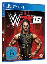 PS4 Game Wwe 2K18 World Wide Wrestling 2018 New
