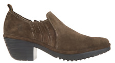3*45 NEW Fly London Wate Sludge Oiled Suede Ankle Booties Women's Size 39