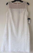 Lauren Ralph Lauren Geometric Patterned Lace Dress. Size 14. MSRP $170.00.