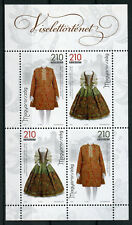Hungary 2018 MNH History of Clothing II Traditional Costumes Dress 4v M/S Stamps