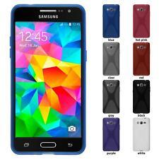 Funda de silicona Samsung Galaxy Grand Prime X-style gris