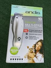 New listing Andis Pet Grooming Kit Adjustable Blade Clipper Mc-3 18400-P Easy Clip