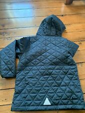 Ll bean boys Primaloft Black Hooded pullover Outerwear Quilted Size Medium 10/12
