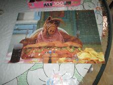 Milton Bradley ALF 100 PC 11x16 Puzzle, Sub Sandwich, hard to find