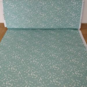 Free Birds Sage Green fabric by Michael Miller
