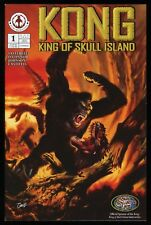Kong King of Skull Island 1B Variant Comic Markosia DeVito King Kong Cover Art